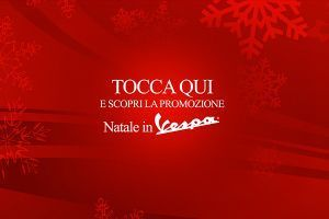 Natale in Vespa - Touch screen app for showroom in Milan - 01