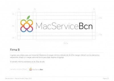 MacServiceBcn - Logo design and brand style guide - 04