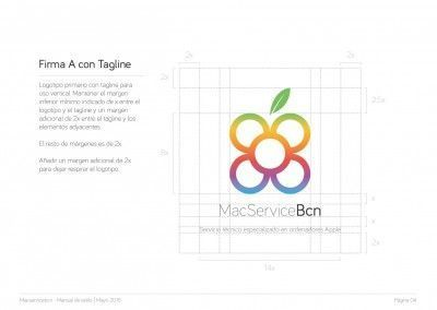 MacServiceBcn - Logo design and brand style guide - 05