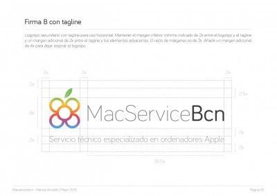 MacServiceBcn - Logo design and brand style guide - 06