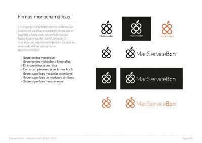 MacServiceBcn - Logo design and brand style guide - 07