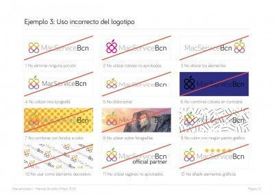 MacServiceBcn - Logo design and brand style guide - 13